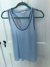 Women's Joie Blue Silk Tank Top Size M