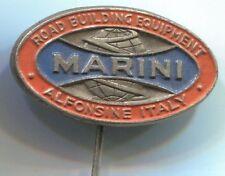 spilla Marini Alfonsine - macchine per autostrade  ora FAYAT GROUP