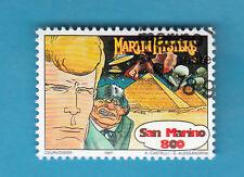 SAN MARINO FRANCOBOLLO 1997  COMICS FUMETTI ITALIANI MARTIN MYSTERE Usato