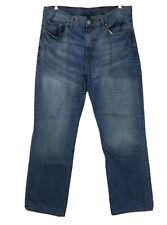 GAP 1969 Men's Jeans Size 36 / 34 Blue Denim Premium Loose All Cotton Light Wash