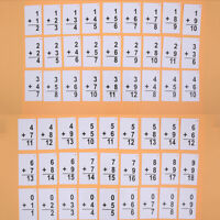 Multiplication Division Flash Cards Mathematics Learning Math Card Table Toys J