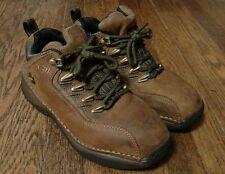 Men's Skechers Brown Leather Steel Toe Boots Size 6.5