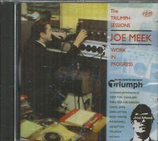 JOE MEEK - CD - Work In Progress - The Triumph Of Sessions - BRAND NEW