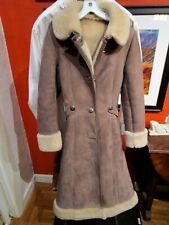 Women's Vintage Abercrombie & Fitch Sheep Shearling Coat, Rare, Beautiful, Sz. 4