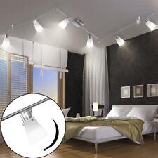 Led Lampe de Plafond Verre 6x Spot Pivotant Éclairage Couloir Lampe 225cm