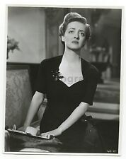 "Bette Davis - ""Watch on the Rhine,"" 1943 - Vintage 8x10 Glossy Photo"