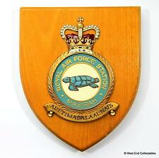 RAF Masirah Station -Military Badge Plaque Shield- Royal Air Force Oman RAFO