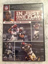 NFL FILM DVD In Just One Play: Big Play Men of the NFL BRAND NEW 2008 FOOTBALL