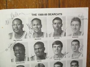 1988 Northwest Missouri State Men's Basketball Program(19 Sign/STEVE  TAPPMEYER)