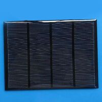 1.5W 12V Mini Solar Panel DIY Powered Models Small Cell Module Epoxy Charger  TC
