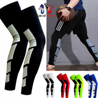 Medical Calf Leg Running Compression Sleeve Socks Shin Splint Support Wrap Brace