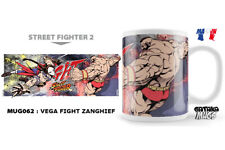 Street Fighter Vega Fight Zanghief Ceramic Mug Tazza NEKOWEAR