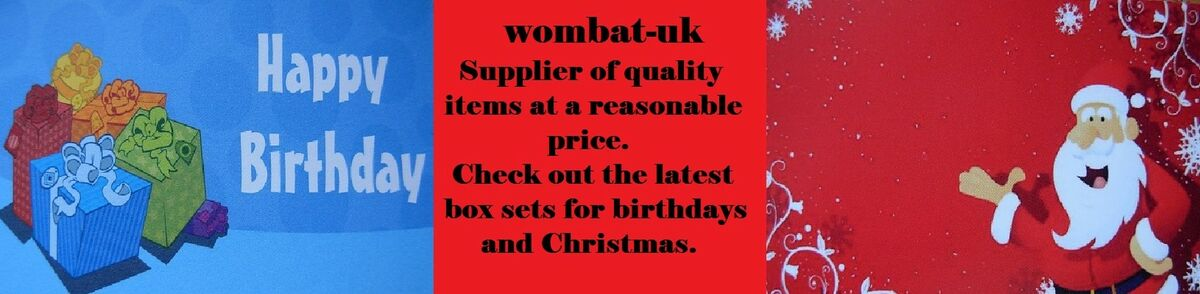 Wombat-uk Badges and collectables