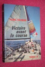 VICTOIRE AVANT LA COURSE P.FEHLMANN EDITIONS 1976  ILUSTRATIONS