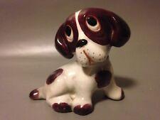 Italian Studio Pottery Mid Century Kitsch Ceramic Cute Dopey Dog Ornament Deco