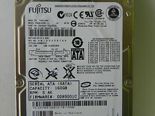 160GB MHW2160BH Laptop SATA Hard Drive PY468 P/N CA06820-B31800DL FW:0085001C