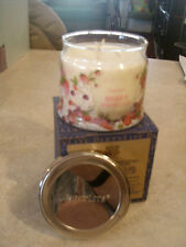 Partylite BERRY VANILLA SIGNATURE 3-wick JAR CANDLE  BRAND NEW