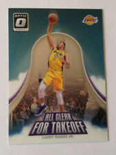 2017/18 Panini Donruss Optic ALL CLEAR FOR TAKEOFF Larry Nance Jr. LAKERS #14
