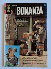 Bonanza #28 Gold Key Comic May 1968 TV Western Photo Cover Reading Copy