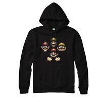 Super Mario Hoodie, Brohemian Rhapsody Spoof Waluigi,Wario,Luigi,Mario Gifts Top