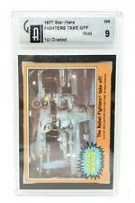 1977 Topps Star Wars #289 The Rebel Fighters Take Off! Graded Mint 9