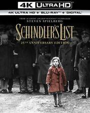 Schindler'S List (4K Ultra Hd + Blu-ray + Digital Hd, 25th Anniversary Ed.) New