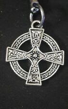 celtic cross necklace with two zip pulls and a keyring #25