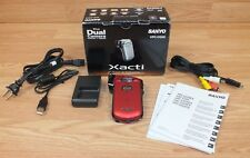Genuine Sanyo (VPC-CG20) Xacti Dual 5x Optical Zoom High Definition Video Camera