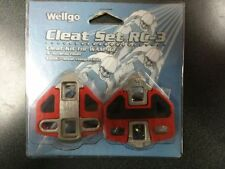 Wellgo Cleat Set RC-3 for LOOK Style Shoes Brand New!!