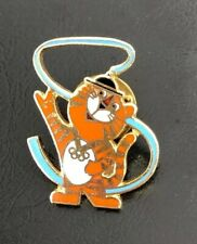 South Korea Hodori Tiger 1988 Seoul Marked 1983 Slooc Olympic Pin Mint