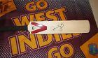Clive Lloyd (West Indies legend) signed Slazenger mini cricket bat + COA