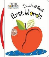 (Good)-Touch & Feel First Words (Petite Boutique) (Board book)-Veronique Petit-1