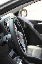 "New 14.5"" Black Non Slip Steering Wheel Cover PVC Leather 58008 Coupe Sedan"