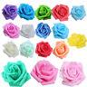 100 STueCKE Schaum Rose Blume Knospe Hochzeit Dekorationen Kuenstliche Blum P7I8