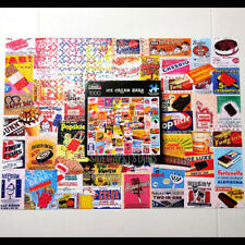 VINTAGE ICE CREAM BARS PUZZLE 1000 batman robin beatles jaws fudgsicle 20x27 FUN