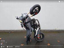 Honda MSX 125 Grom Eliminator Fender Kennzeichenhalter und 12 oclock stunt-bar