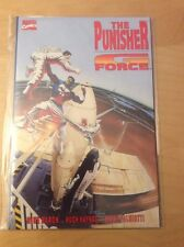 PUNISHER: G FORCE TPB, NM- (9.0 - 9.2), 1ST PRINT, PERFECT SPINE