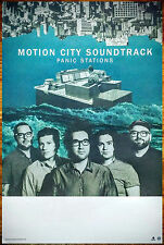 MOTION CITY SOUNDTRACK Panic Stations 2015 Ltd Ed RARE Poster +FREE Punk Poster!