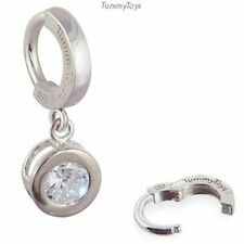 TummyToys Silver Sleeper Belly Ring With 6mm CZ  Swinger