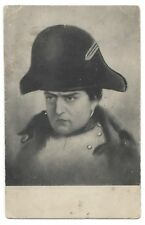 1910s  Antique Napoleon Bonaparte in Uniform Russian PHOTO postcard CARTE PoSTAL