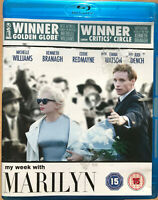 Mi Semana con Marilyn Blu-Ray 2011 Monroe Película Biográfica Drama de Cine