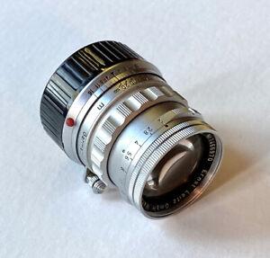 Leica 50mm Summicron f2  #1466970 M-Mount