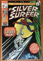 Silver Surfer #14, GD/VG 3.0, Spider-Man
