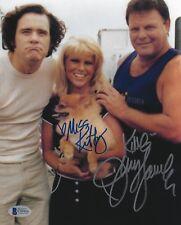 Jerry Lawler Miss Kitty Signed 8x10 Photo BAS COA WWE Jim Carrey as Andy Kaufman