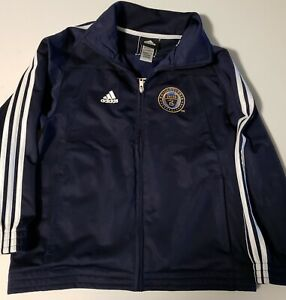 Adidas Philadelphia Union Youth Full Zippered Jacket Small (8)