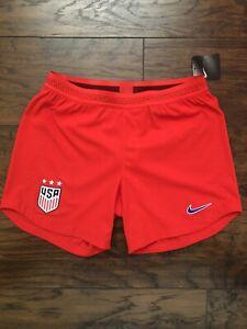 Nike Vaporknit Women's US Soccer 2019 US Stadium Match Shorts CJ6038-688 Size S