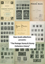 213 RARE POSTAGE STAMP BOOKS ON DVD - PENNY BLACK, ALBUM, COLLECTING CATALOGUES