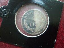 ROMANIA - 1 LEU 1873 - SILVER COINS