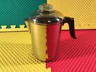 Vintage Revere Ware 1801 Copper Bottom 8 Cup Percolator Coffee Pot Clinton Ill