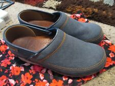 Dansko Professional Clogs Size 39  Blue Jean Leather Nursing Comfort Shoe